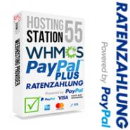 PayPal PLUS für WHMCS - Nutzen Sie alle Zahlungsmöglichkeiten von PayPal PLUS (SEPA Lastschrift, Kreditkarten, PayPal, auch Ratenzahlung)