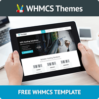 Flow Host - Free WHMCS Template