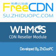 ZhiDuoPC FreeCDN CDN Reseller Module for WHMCS