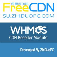 ZhiDuoPC FreeCDN CDN Reseller Module for WHMCS