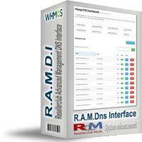 Resellerclub Advanced Management DNS Interface