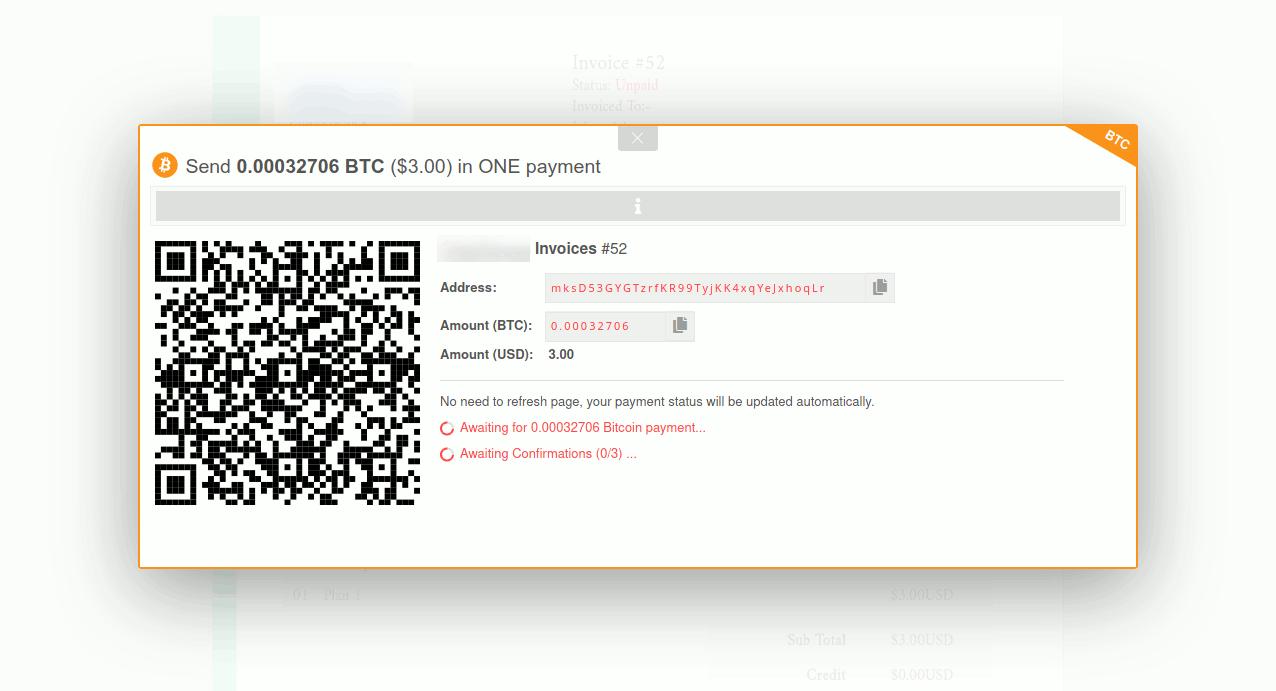 bitcoin whmcs