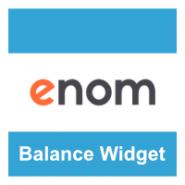 eNom Balance Widget