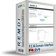 Resellerclub Extended Management DOMAIN Interface