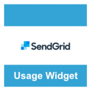SendGrid Usage Widget