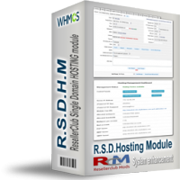ResellerClub Single Domain & DIY Sitebuilder Hosting Module