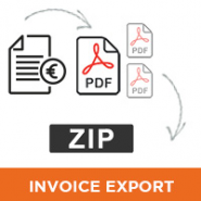 Invoice mass pdf export