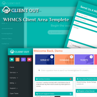 Client Out - Fully Responsive WHMCS Client Area Template