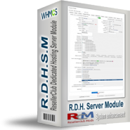 ResellerClub Dedicated Hosting Server