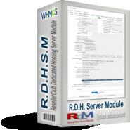 ResellerClub Dedicated Hosting Server Module