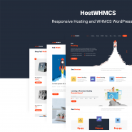 HostWHMCS | Responsive Hosting and WHMCS WordPress Theme