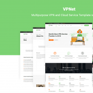 VPNet - Multipurpose VPN and Cloud Service Template with WHMCS