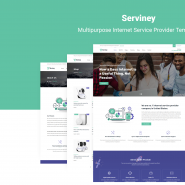 Serviney - Multipurpose Internet Service Provider Template