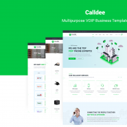 Calldee - Multipurpose VOIP Business Template