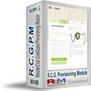 ResellerClub CodeGuard Provisioning Module