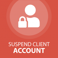 Suspend Client Account