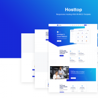 Hosttop | Responsive Hosting With WHMCS Template