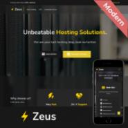 Zeus - Host Theme