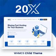 TwentyX WHMCS Client Area Template