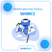 WHMCS Notification Bar Addon