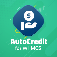 Auto Credit for WHMCS