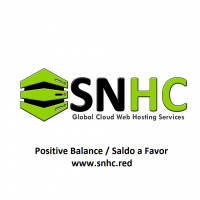 Positive balance / Saldo a favor