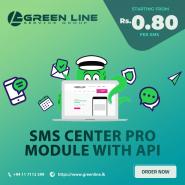 SMS Center Pro with API