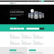 MaxHost - Web Hosting Theme with WHMCS Template