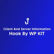 Client And Server Information Hook By WP KIT