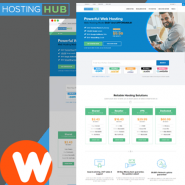 HostingHub - Fully Responsive WHMCS Client Area Template