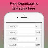 Free Opensource Gateway Fees
