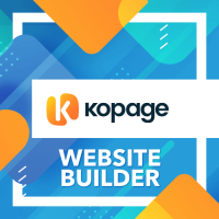 Kopage Website Builder for WHMCS, cPanel, DirectAdmin & more