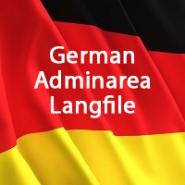 German Admin Langfile