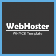 WebHoster - WHMCS Template